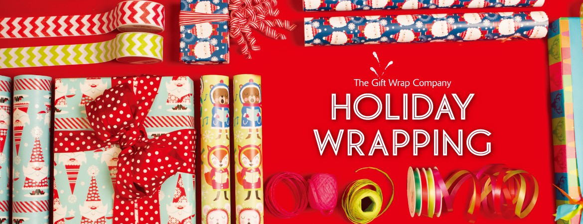 THE GIFT WRAP COMPANY HOLIDAY